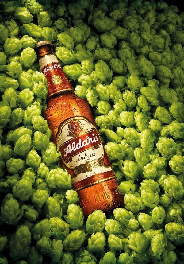 """Aldaris"" beer by Pixpecker agency, via Behance"