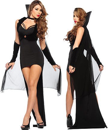 Countess of The Night Costume - Sexy Vampire Costumes for Women