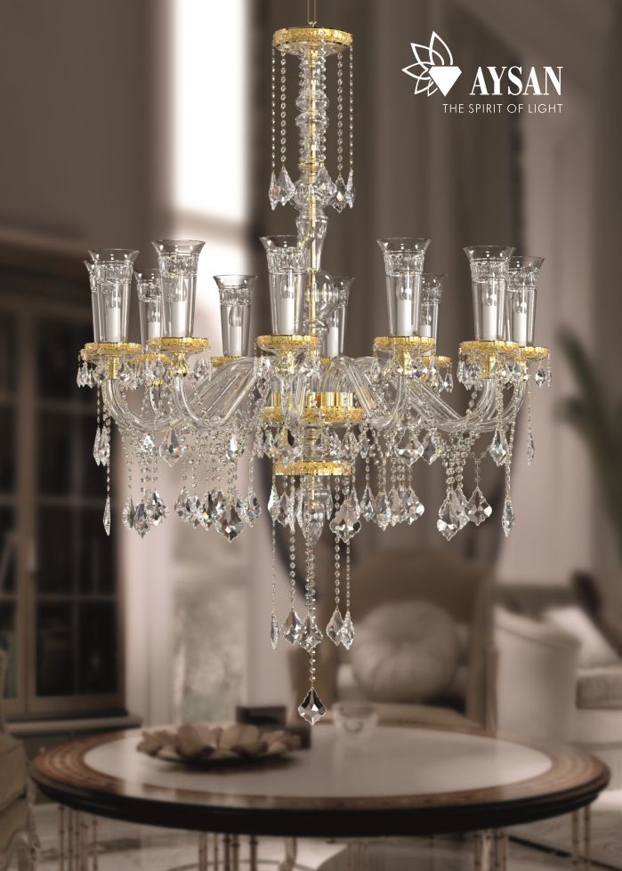 19 best AYSAN ┃ Crystal Chandeliers images on Pinterest | Crystal ...
