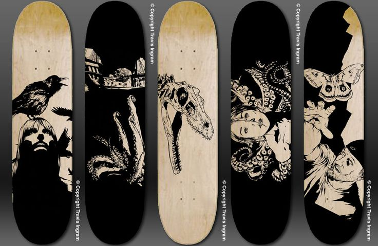 Skateboard Deck Designs by zerogenius.deviantart.com on @deviantART