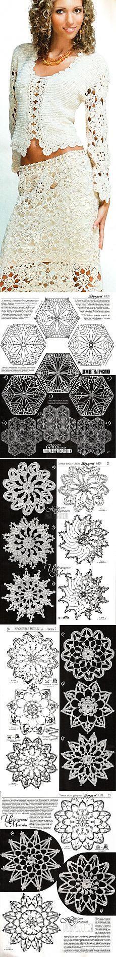 Mejores 217 imágenes de chaquetas de crochet en Pinterest   Afligido ...