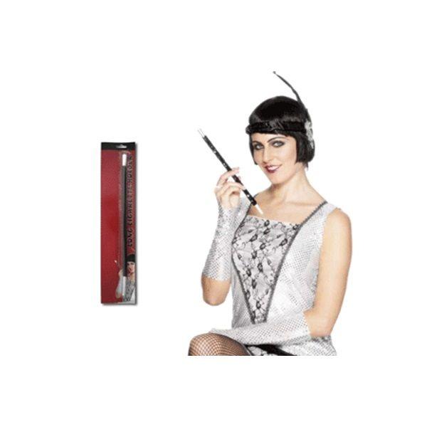 Oceana 1920's Flapper Plastic Black Cigarette Holder Party Costume Accessory - Oceana International
