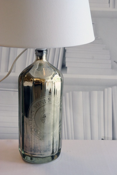 i love this soda bottle lamp from Rockett St George... the shade comes in grey or white...