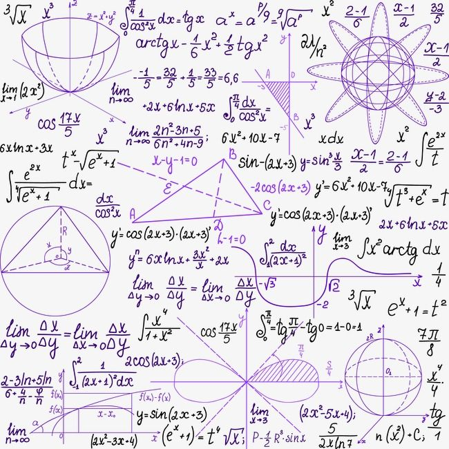 Purple Mathematical Notes Float Vector Mathematical Notes Png Transparent Clipart Image And Psd File For Free Download Mathematical Equations Mathematics Art Equations