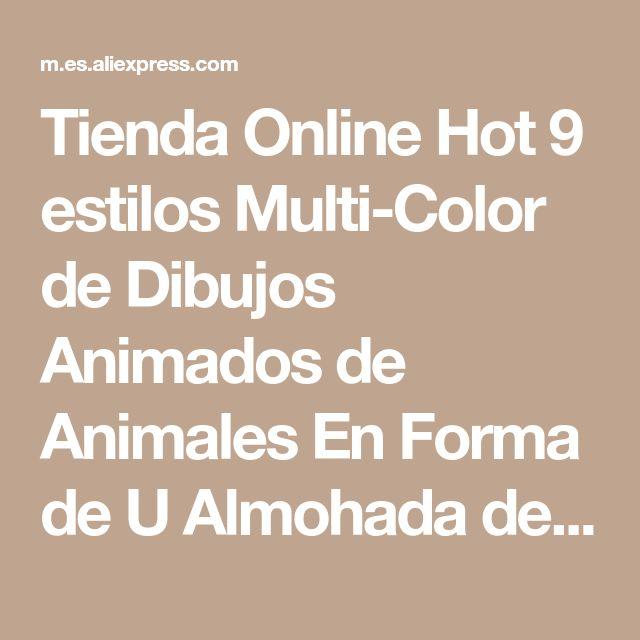 Tienda Online Hot 9 estilos Multi-Color de Dibujos Animados de Animales En Forma de U Almohada de Viaje Cuello Almohada de Apoyo Reposacabezas Cojín Para El Coche Avión | Aliexpress móvil