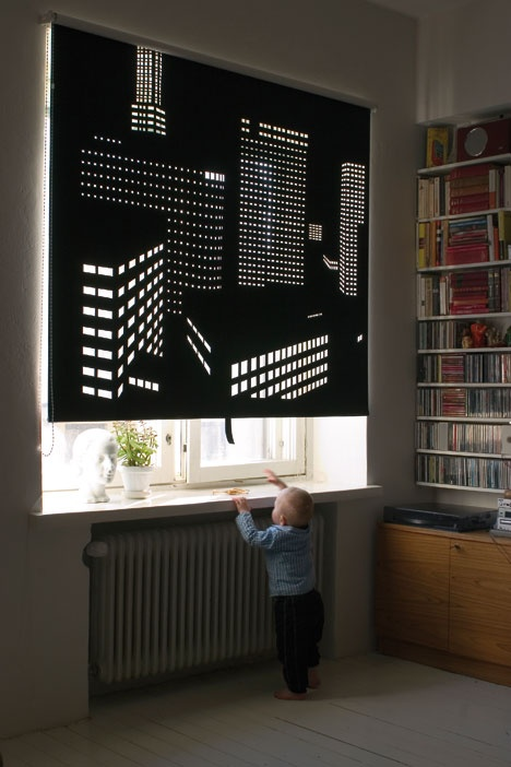 cutout your own blackout blind
