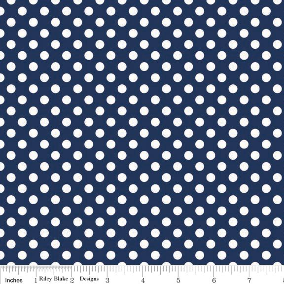 $5 - Dots Small - Navy - Fabric on the Bolt - per 25cm - Another great product listed on the Cloth 'n' Craft Marketplace! https://www.clothncraft.com.au/shop/dots-small-navy-fabric-on-the-bolt-per-25cm/