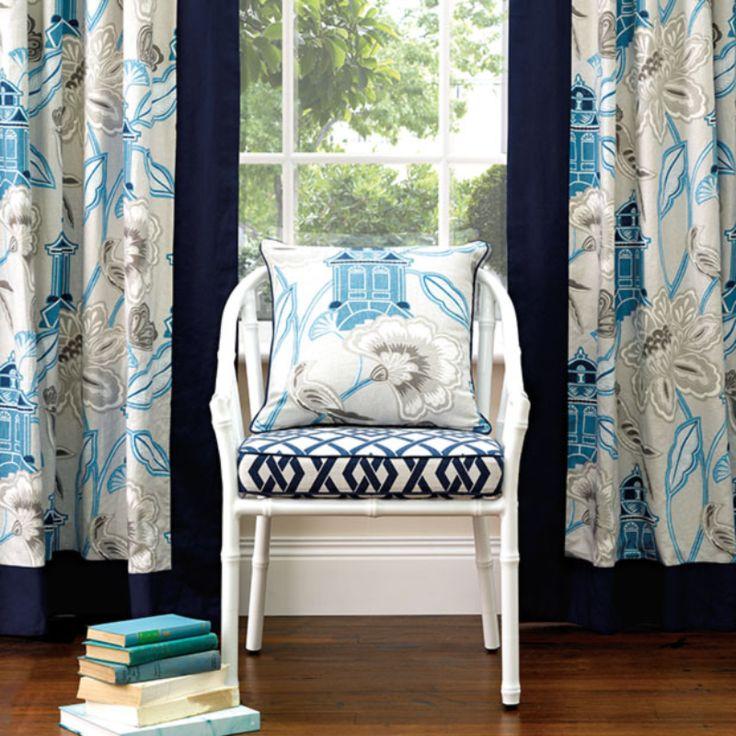 Warwick Fabrics : LANTERN GARDEN  DRAPERY HANGER