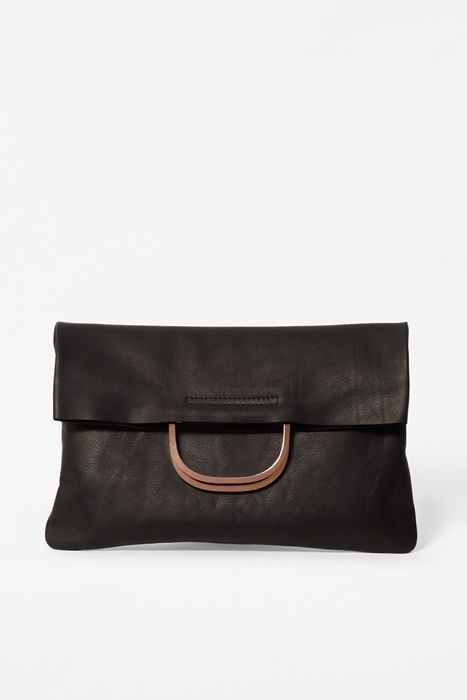 COS leather bag