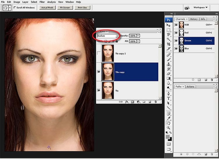 retusz twarzy Photo editing, Photo