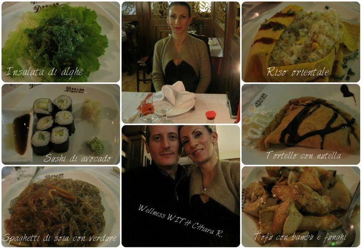 Ecco il nostro cenone di Capodanno 2014 c/o Dragone D'Oro Parma...i piatti vegetariani!