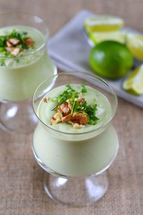 Kókuszos avokádókrémleves recept