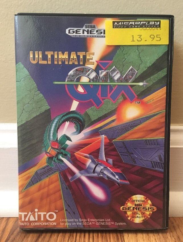 Ultimate Qix SEGA GENESIS Vintage Video Game 1991 Complete | Video Games & Consoles, Video Games | eBay!