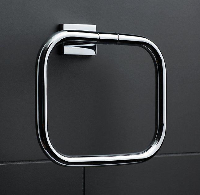 Best 20+ Towel rings ideas on Pinterest   Towel hanger ...