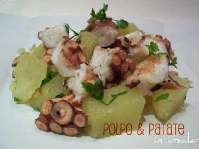 Polpo & patate in pentola a pressione