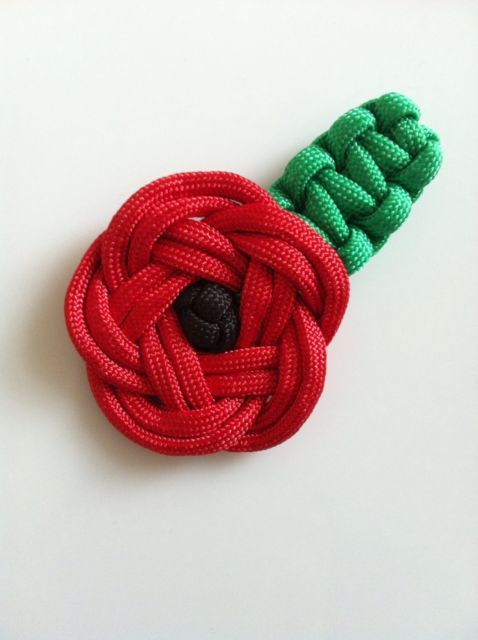 Handmade Paracord Poppy | eBay
