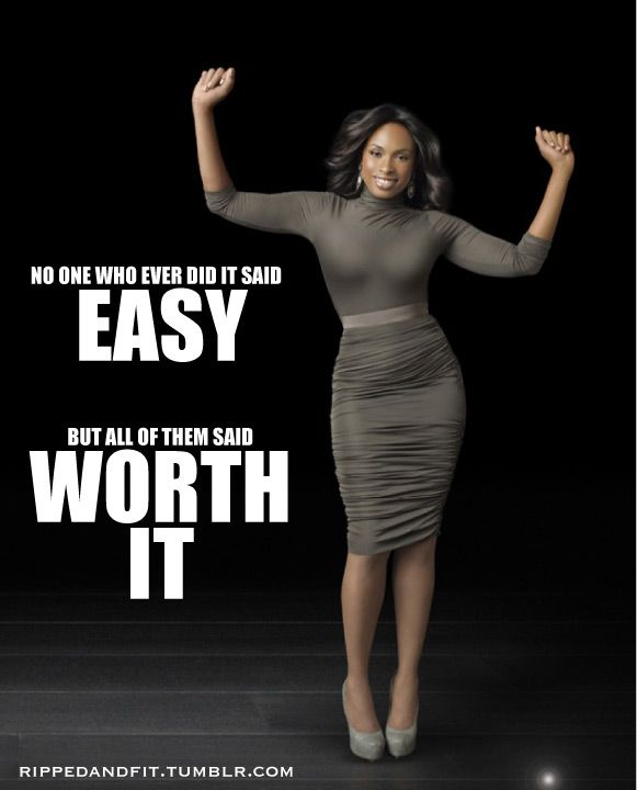 Athletic daily mantra for weight loss for some people