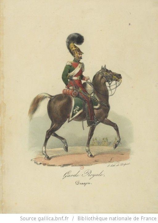 [Maison du Roi et garde royale de Louis XVIII, 1817.] / Ch. Aubry - 14