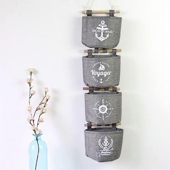 """Технические характеристики: Эта стена дверь висит организатор, можно проводит все от компакт-дисков, DVD, купание туалетные принадлежности, школьные принадлежности, игрушки и многое другое. Это большой хранения решение для любой области, от офиса к живущей комнате в шкаф. Складок квартира, когда не в пользе. Тип: Висит сумка для хранения Материал: Хлопок белье Шаблон: случайный Количество: 1 шт Цвет: серый Особенности: Компактный, складной, организатор Ширина: 17 см/6,69 """"», высота..."""