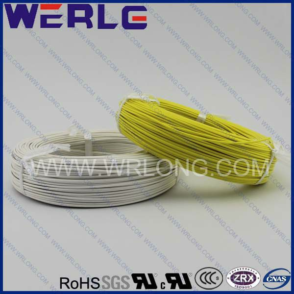 white Silicone Braided wire cableROHS, CCCGB/T19001, ISO9001Rated temperature:-60~+180  Rated voltage:500V
