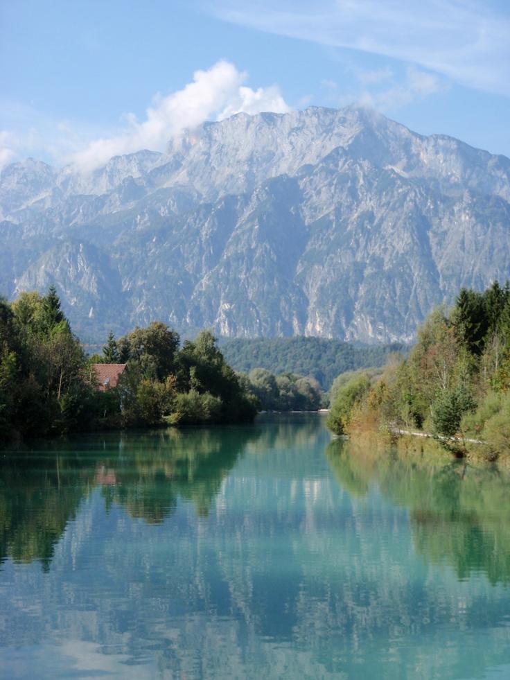 Salzach River (close to Salzburg, Austria)