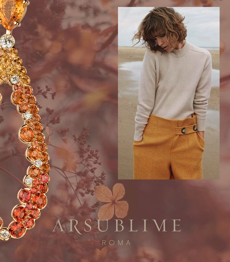 #mood #inspire #arsublime #neutral #colors #arsublime #vibes #finejewellery #style #rome #roma #autunno #orange