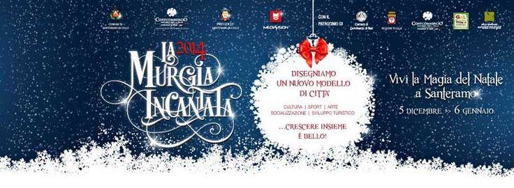 La #Murgia Incantata, per vivere la magia del #Natale, dal 5 dicembre 2014 al 6 gennaio 2015 a #Santeramo in Colle (Ba)