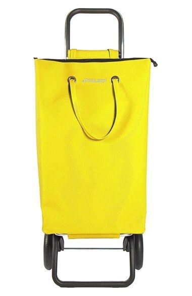 ROLSER 'Pack Logic RG- SuperBag' Folding Shopping Trolley - Yellow