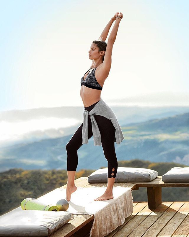 Stretch your style muscles with @victoriasport. #VictoriasSecret #MarketDistrict #Boston