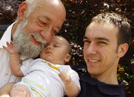 Men's Health Week   Three generations of men - grandfather, father and baby boy  http://www.menshealthweek.org.au/