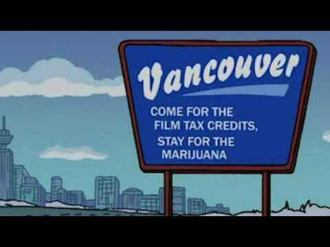 The Simpsons go to Vancouver  http://www.vancitybuzz.com/2014/02/the-simpsons-vancouver-2010-olympics-boys-meet-curl/