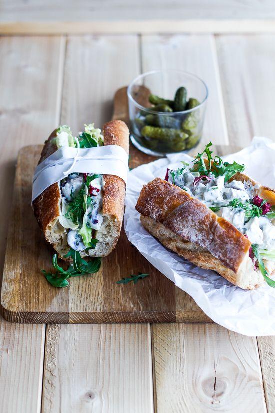 Sandwich with chicken salad
