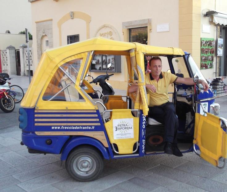 otranto taxi... puglia italy