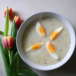 Photo recette : Bortsch blanc de Pâques (Zurek)