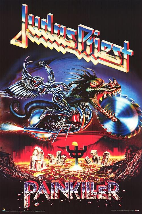One of my favorite! Judas Priest - Painkiller