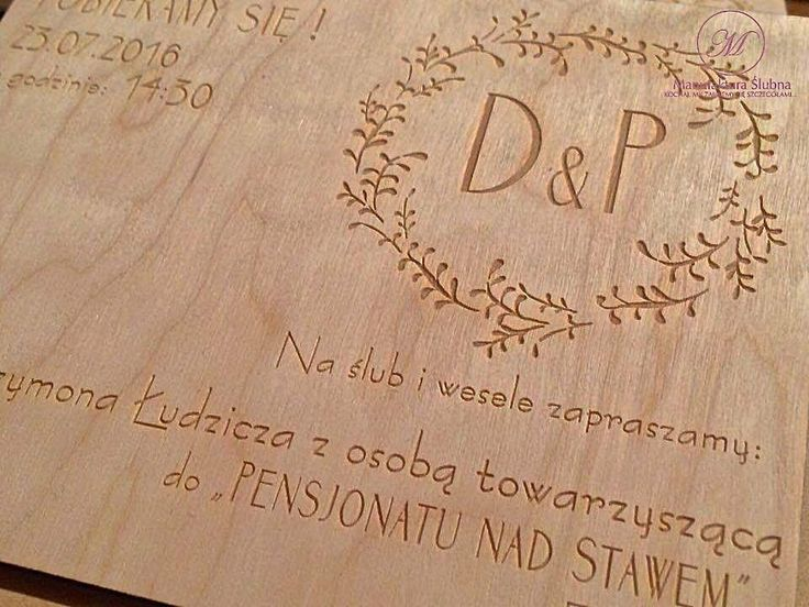 #wedding #day #paper #decorations #invitations #style #boho #eco #wood #stationery #bride #groom #wesele #ślub #zaproszenia #styl #drewno #papeteria #pannamłoda #panmłody