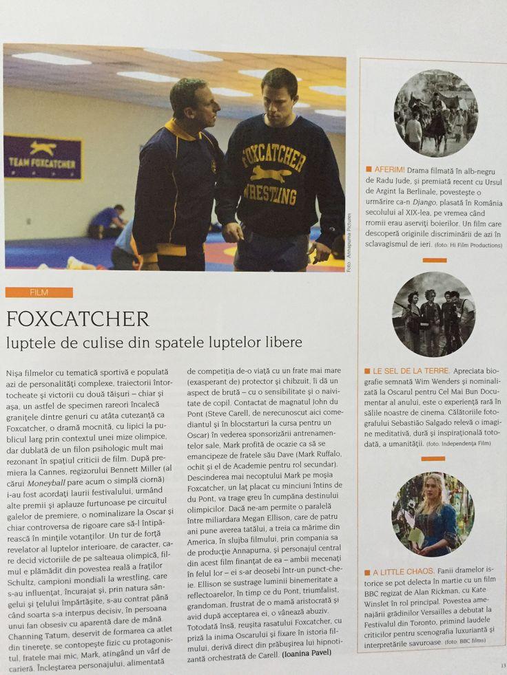 Foxcatcher – Review [Igloo, martie 2015] |