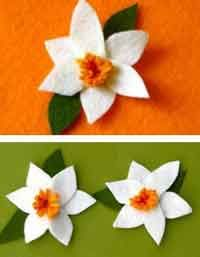 Over 50 free felt flower patterns