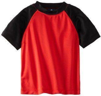 Kanu Surf Little Boys' Contrast Swim Shirt - Shop for women's Shirt - Red Shirt