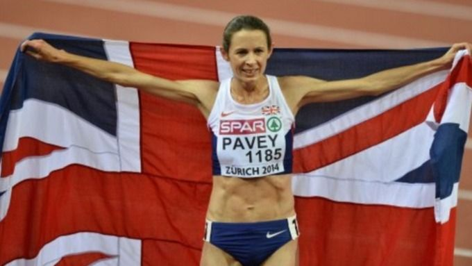 Athlete Jo Pavey makes Olympic history