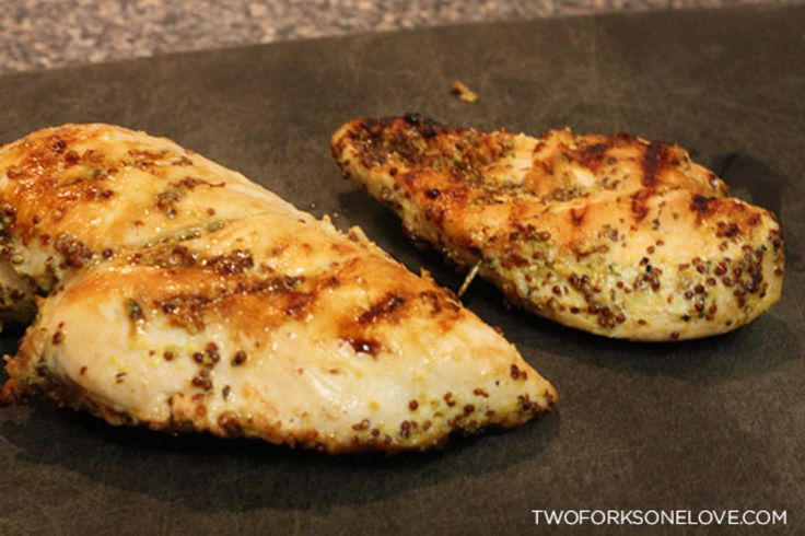 The BEST chicken breasts -- oven grilled and delicious!