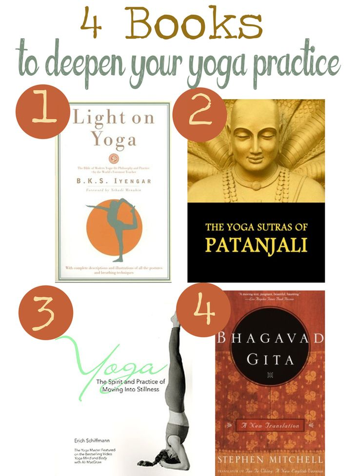 4 Books that'll deepen your yoga practice