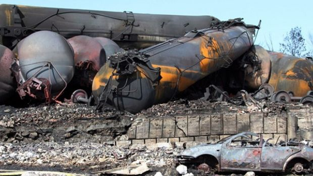 BIG BUSINESS shows their typical tenderness. Lac-Mégantic lawsuit: Judge rejects Canadian Pacific challenge Rail company refused to pay into victims' compensation fund