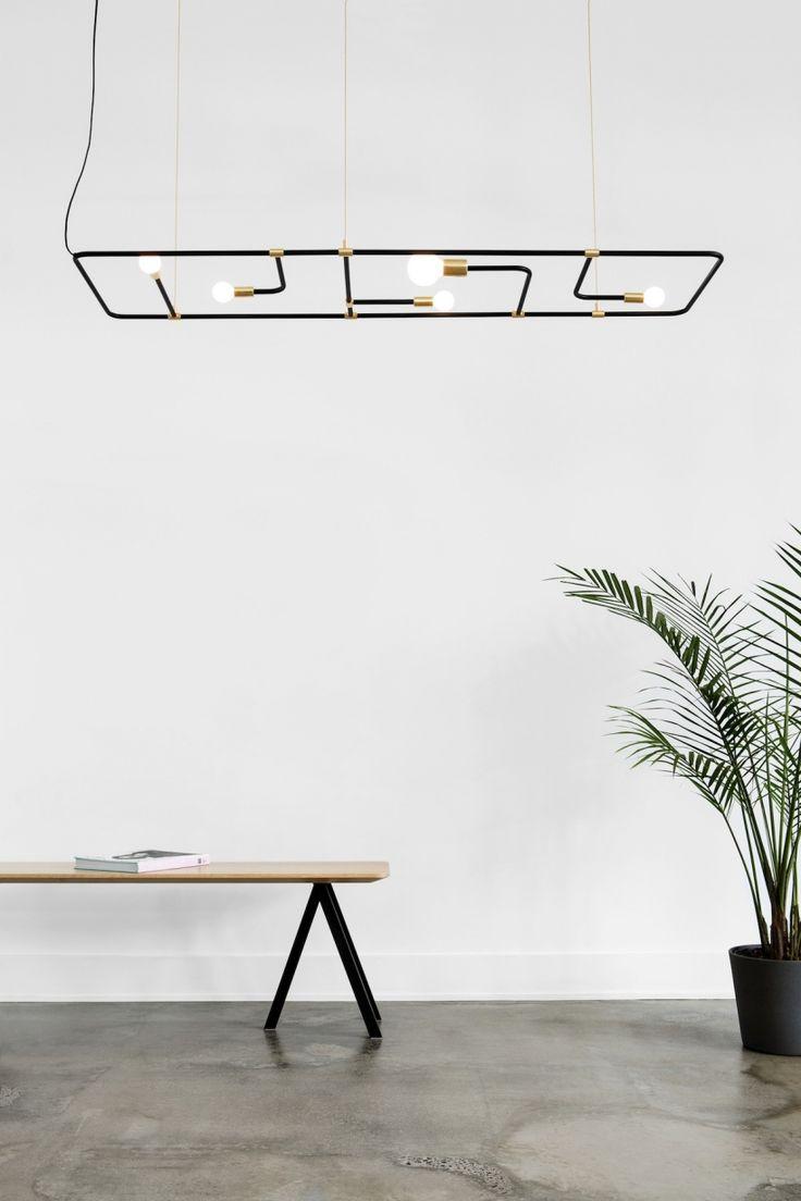 Необычная лампа из коллекции Beaubien — проект дизайн-студии Lambert & Fils, занимающейся разработкой осветительных приборов.