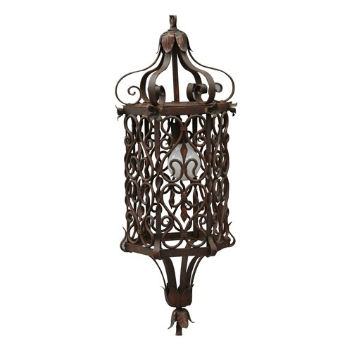 Classic 1920s wrought iron pendant light fixture pendant light fixturespendant