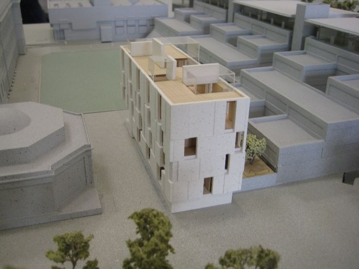 Planning Model | Trinity Long Room Hub, the Arts and Humanities Research Institute of Trinity College Dublin Mccullough Mulvin Architects | architecture | design | Dublin | Ireland | university | campus