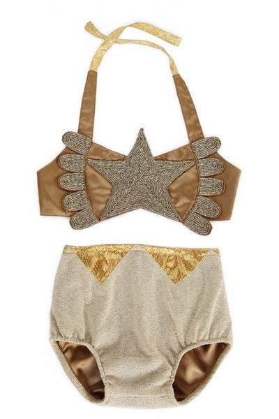 Belle & Lace vintage girls circus costume