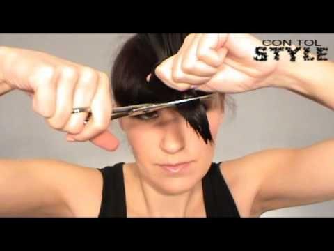 Corte de Cabello ESCALADO A CAPAS - How to cut your own hair...hopefully none of my clients see this, haha