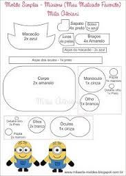 Afbeeldingsresultaat Voor Minion Cut Out Template