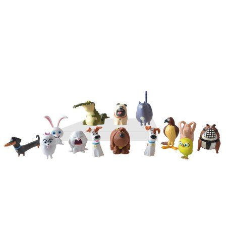 Generic The Secret Life Of Pets Mini Pets Collectible Figures Walmart Com Secret Life Of Pets Little Girl Toys Childrens Gift Guide